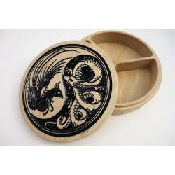 Boîte yin yang motifs...